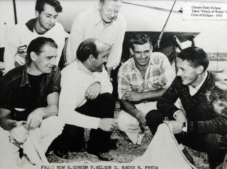 Crew of Eclipse, 1953