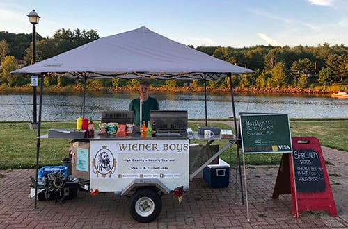 Weiner Boys Food Cart at Chester Race Week