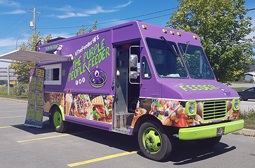 Purple People Feeder | Food Truck
