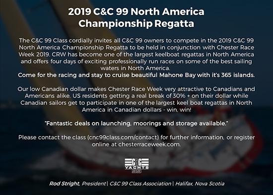 CC99 North American Championship Regatta