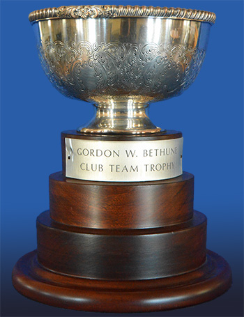 Chester Race Week Trophies - Special Trophies - Gordon Bethune Club Team Trophy