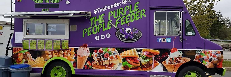 Purple People Feeder Food Truck
