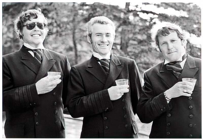 Kit MCurdy, Rod Fraser, Bob Downie   Founders of the Current Chester Race Week